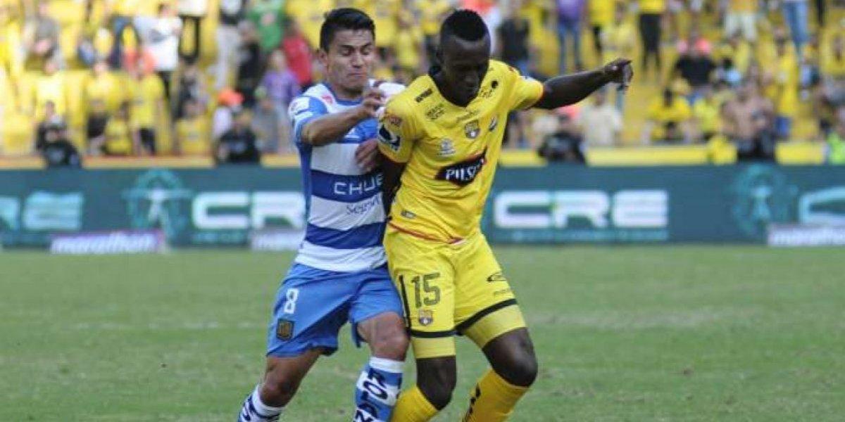 Béder Caicedo, baja en Barcelona SC