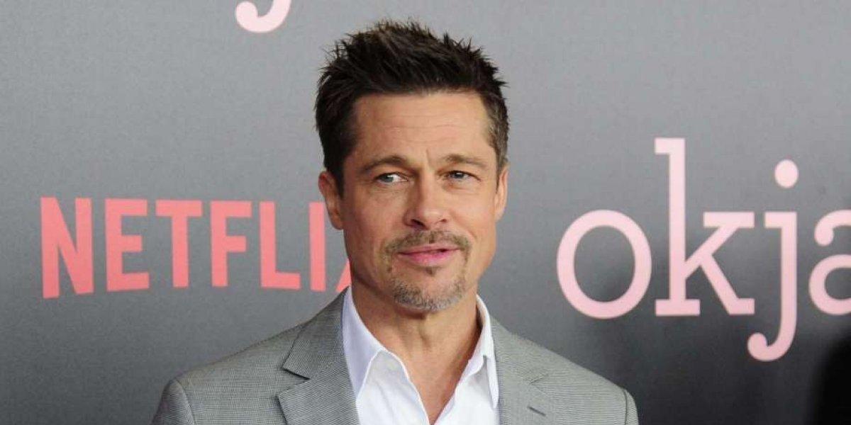 Brad Pitt le hace propuesta sexual a una bella actriz en los Oscar