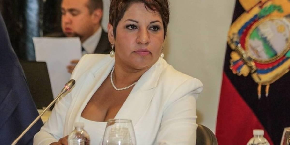 María José Carrión no incluyó vehículo en su declaración de bienes