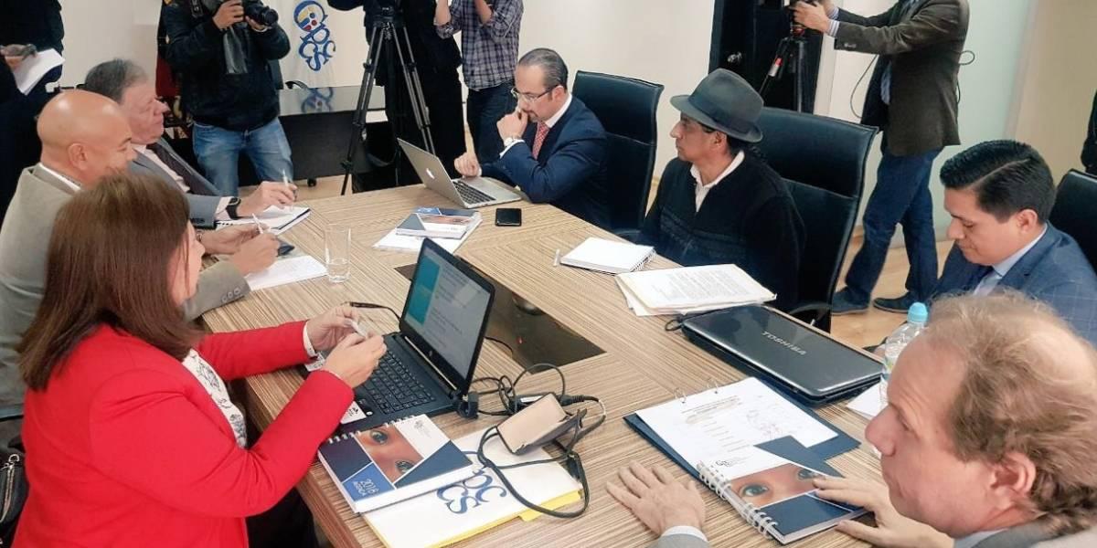 Julio César Trujillo no asistió a primera reunión del CPCCS transitorio por gripe