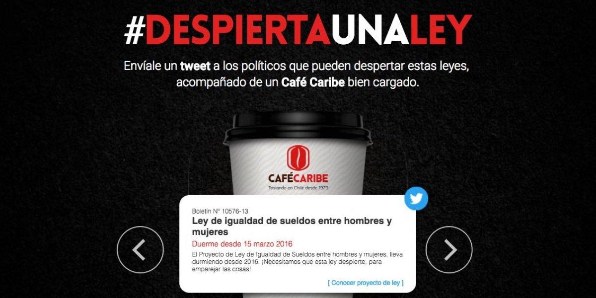 #Despiertaunaley: la iniciativa que buscará que los políticos dejen de dormir