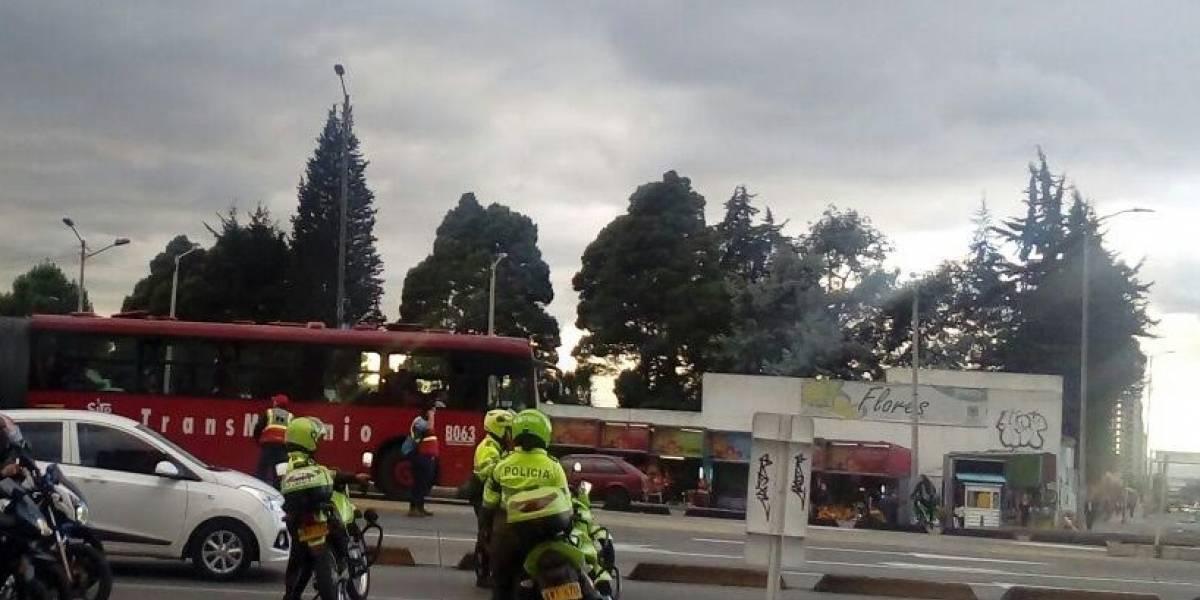 ¡Atención! Se desvía la operación de TransMilenio tras fuertes disturbios en Bogotá