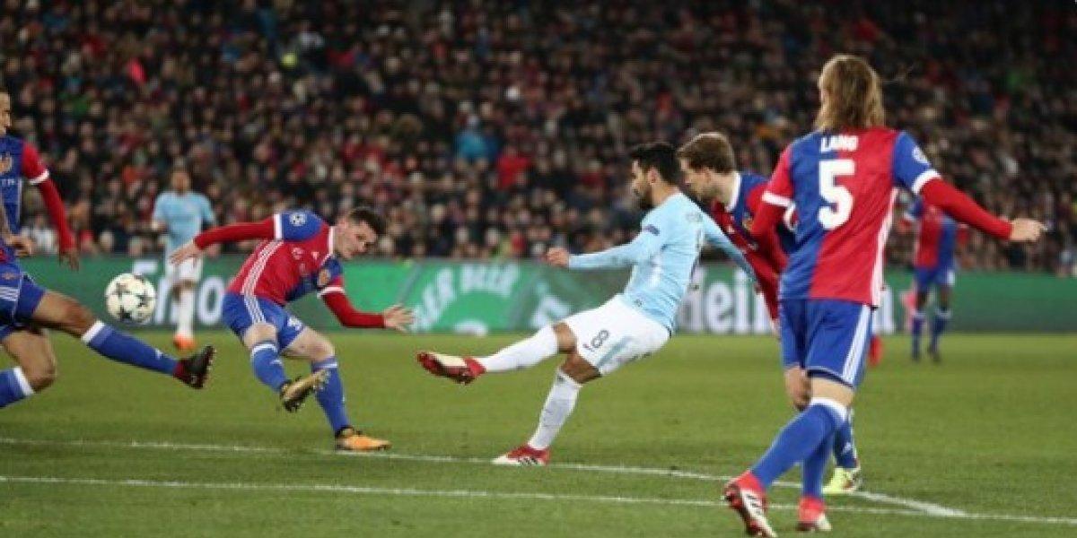 Champions League: Sigue en Vivo el partido entre Manchester City y el Basilea