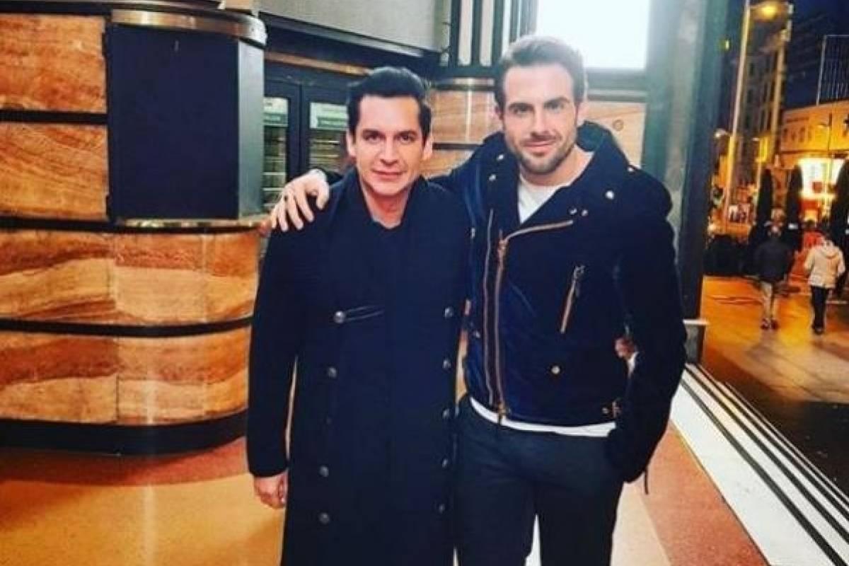 Con Jordi Rubio, actor español Instagram