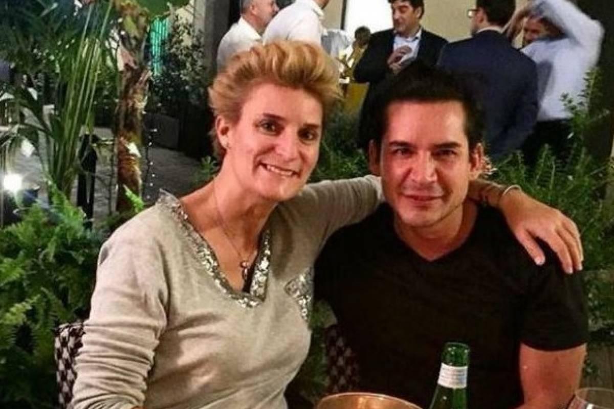 Con María Zurita Borbón, prima de Felipe IV Instagram