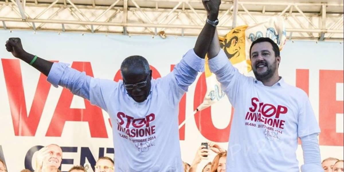 El primer senador negro de la historia en Italia que además, es de la xenófoba Liga Norte