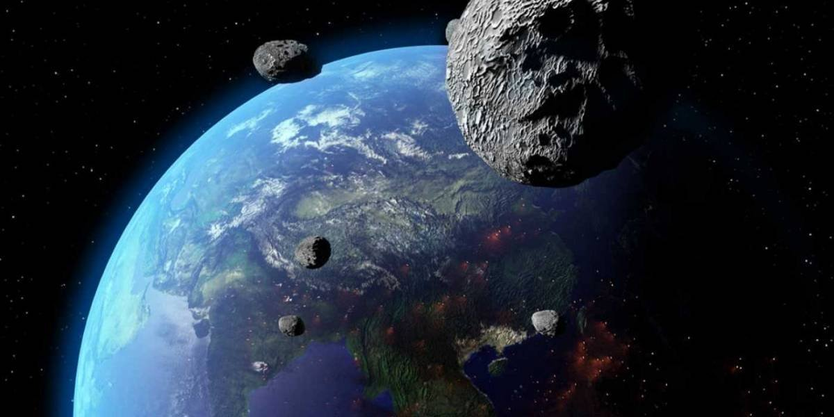 Asteroide caracterizado como 'potencialmente perigoso' passará hoje próximo à Terra