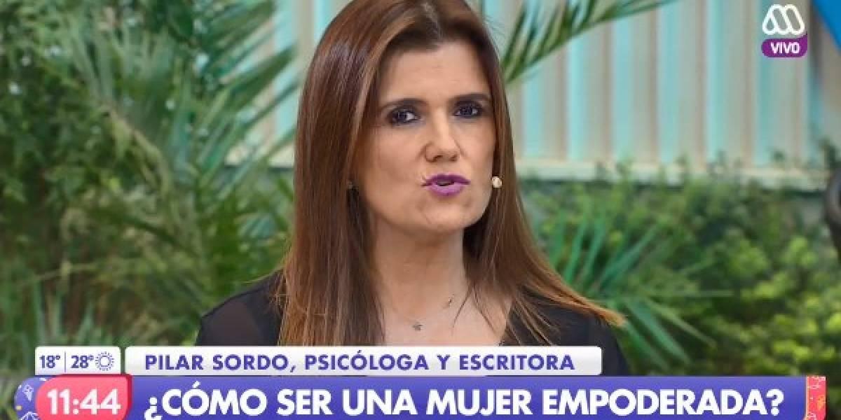 """Las críticas a Pilar Sordo por hablar de """"cómo ser una mujer empoderada"""" en el matinal """"Mucho Gusto"""""""