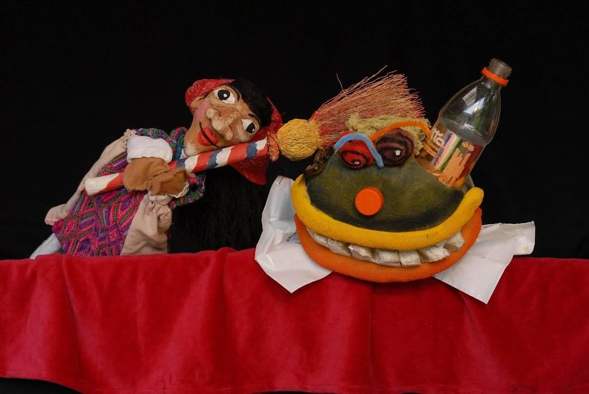 El Monstruo de la Basura Foto: Mes del teatro