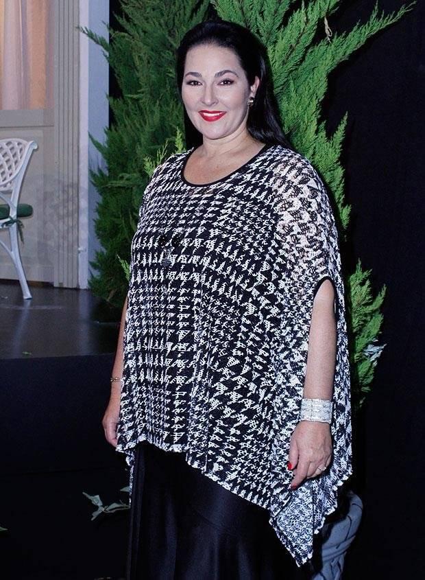 Eugenia Cauduro cuando subió de peso