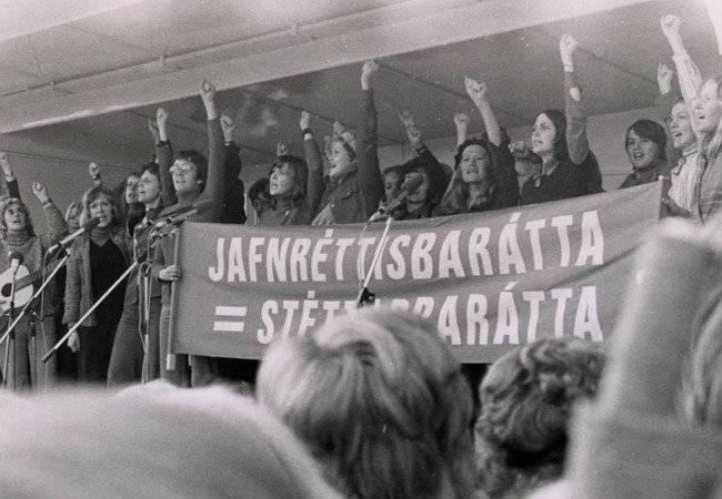 Feministas Islandis