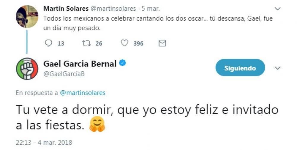 Gael García responde
