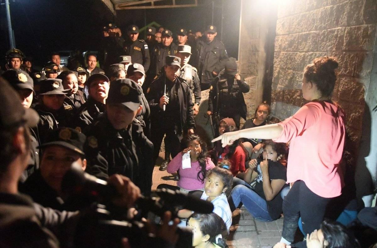 Las adolescentes que se fugaron la noche anterior a la tragedia. Omar Solís