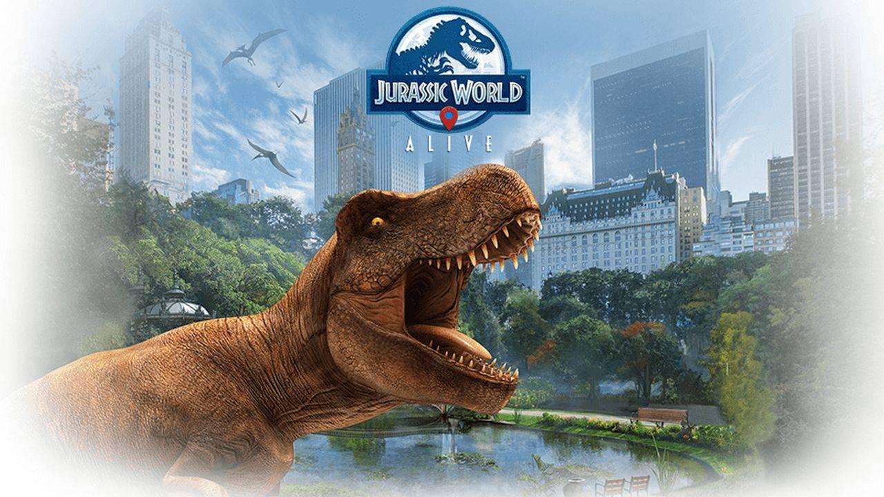 Jurassic World Alive es Pokémon GO con dinosaurios