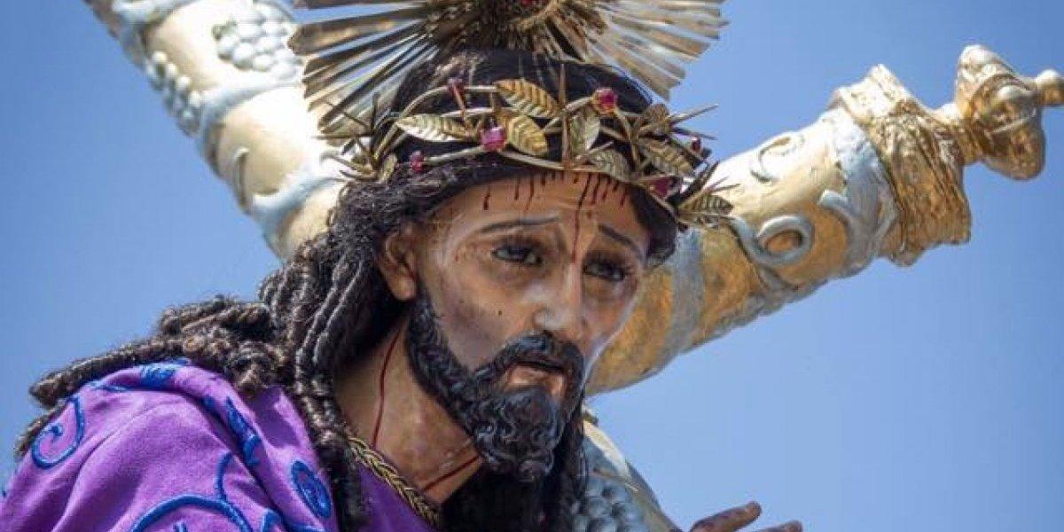 Jesús Nazareno Justo Juez sale en procesión este domingo