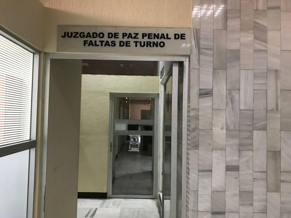 audiencia de internos de Gaviotas en Juzgado de Paz
