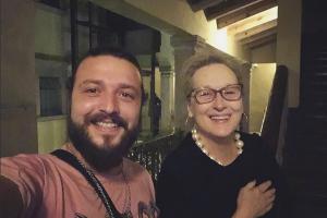 De visita en México.