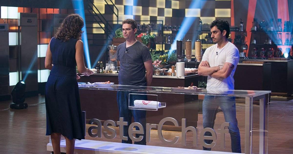 Aristeu e Jaime impressionaram com receita de Baião de Dois, mas Aristeu foi o escolhido Foto: Carlos Reinis/Band