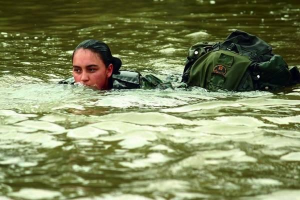Militares ecuatorianas