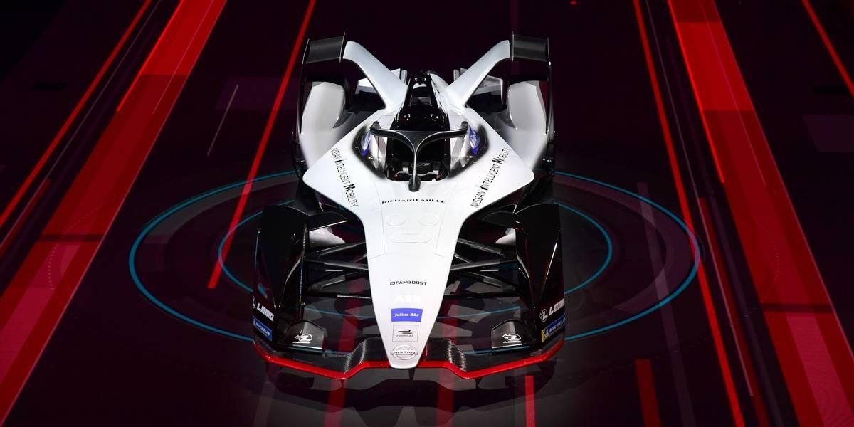 Nissan anticipa su monoplaza de Fórmula E para la próxima temporada