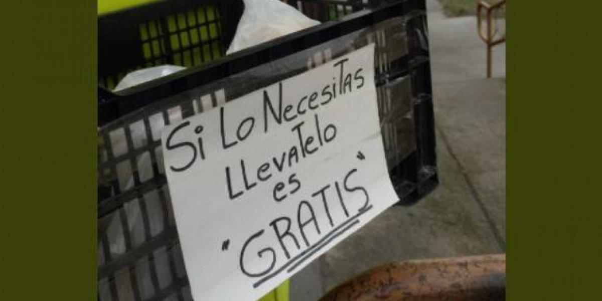 """""""Que tremendo gesto, hay gente buena en esta vida"""": dueño de almacén en Punta Arenas regala pan a personas que lo necesiten"""