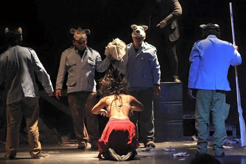 El Señor Presidente Foto: Mes del teatro