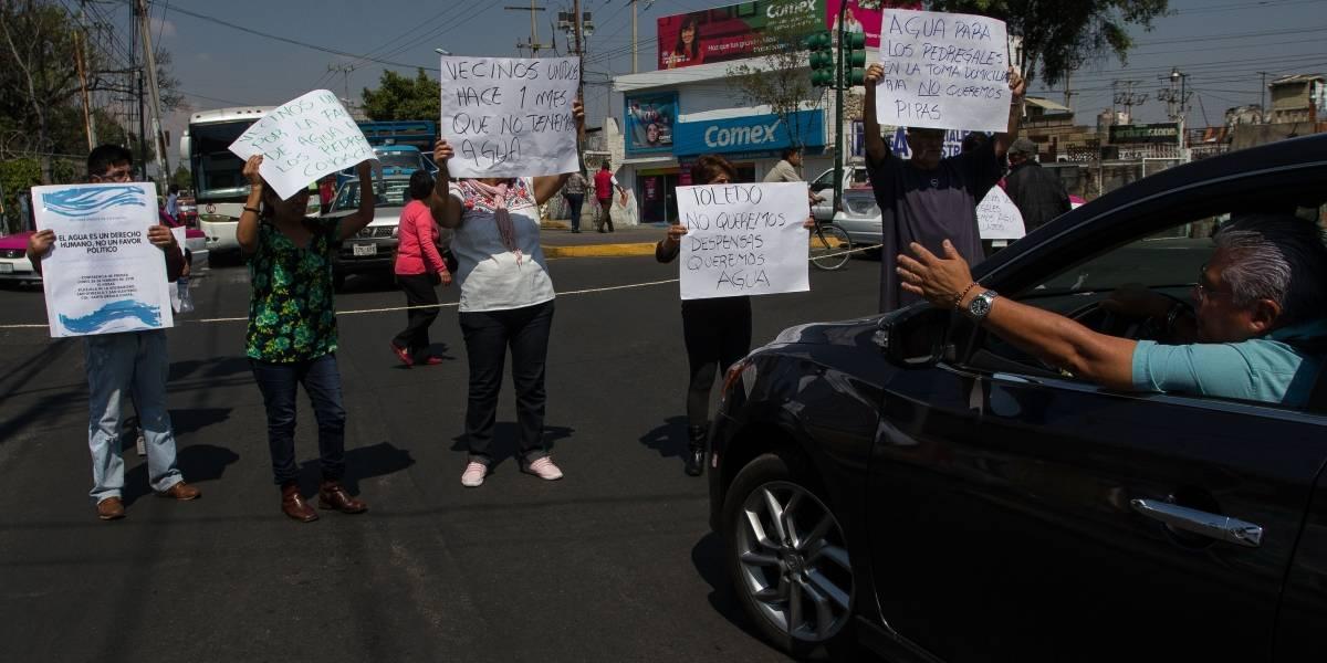 'Secuestro' de 60 mil tomas de agua, problema de hace tres años