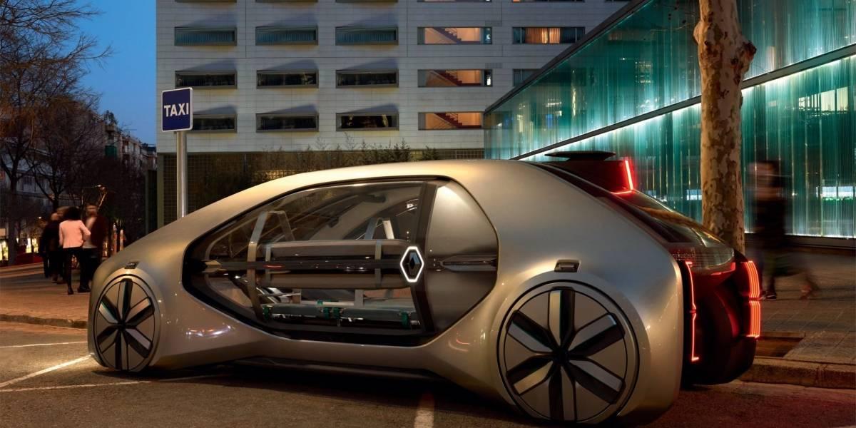 """Conozcan al Renault EZ-GO, un """"robot-vehículo"""" compartido autónomo y eléctrico"""