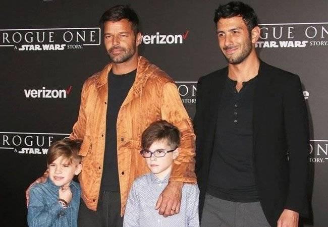 Ricky e hijos
