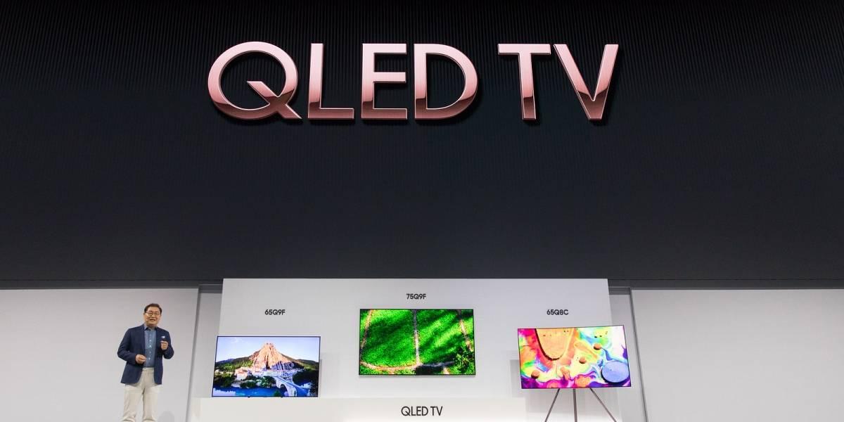 Samsung anuncia televisores QLED que imitan la textura de la pared
