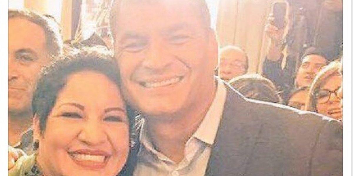 Rafael Correa se refiere a supuesto mensaje de asambleísta María José Carrión