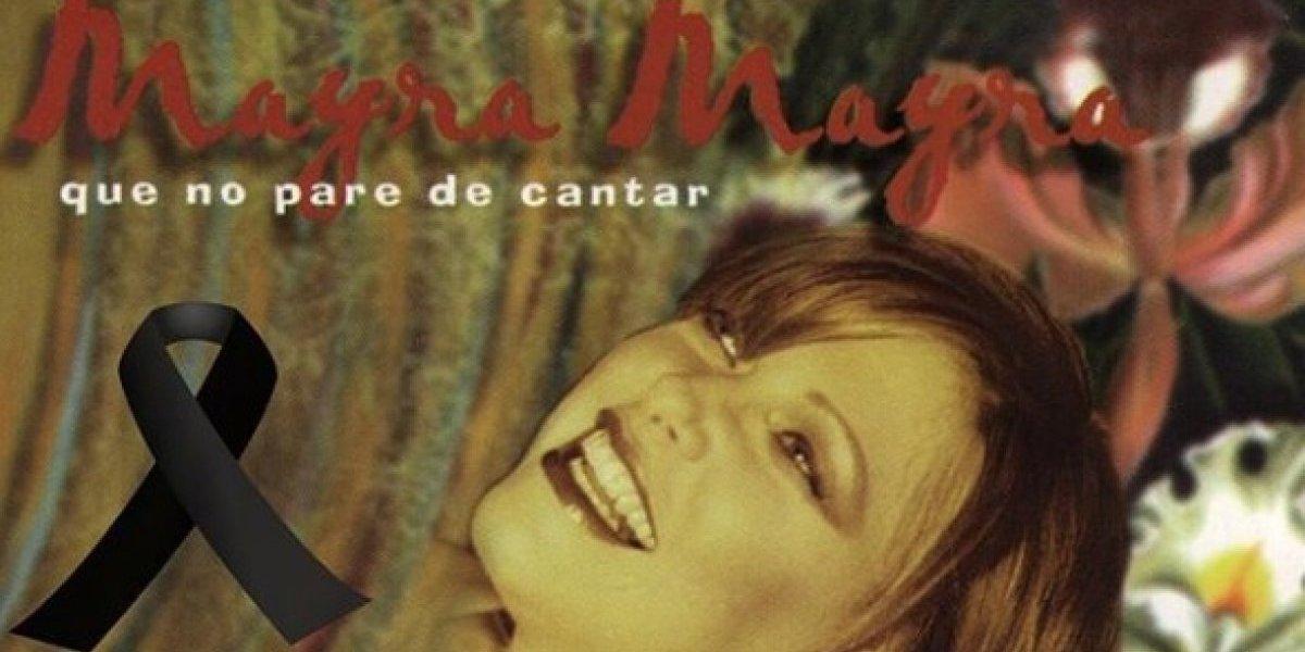 Artistas lamentan fallecimiento de Mayra Mayra