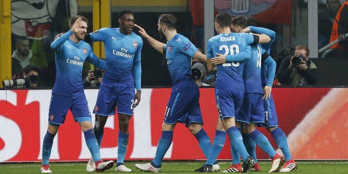 Arsenal y Atleti se enfilan a los cuartos de la Europa League