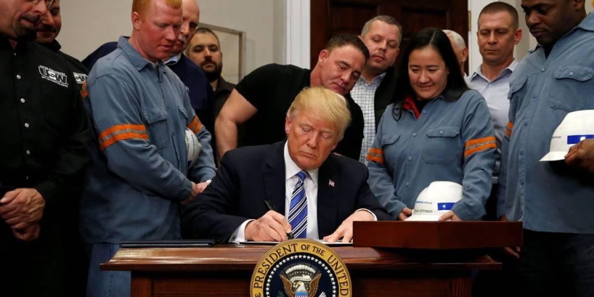 Estados Unidos: en qué consisten y a quién afectan los polémicos aranceles al acero y al aluminio aprobados por Donald Trump