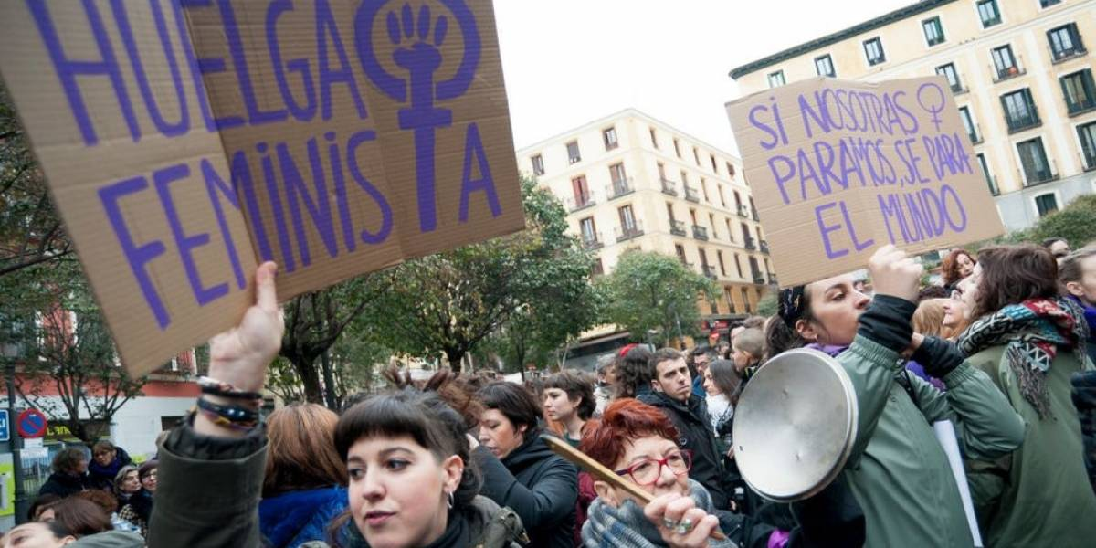 Marchas y huelgas marcan Día de la Mujer en el mundo