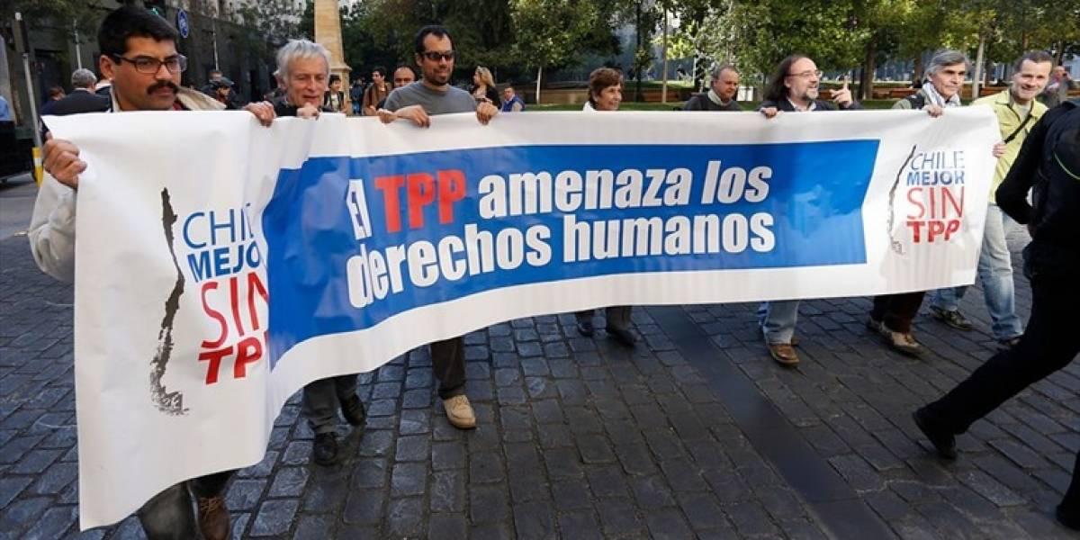 """Detractores: """"Lo que trae el TPP es sumamente peligroso"""""""