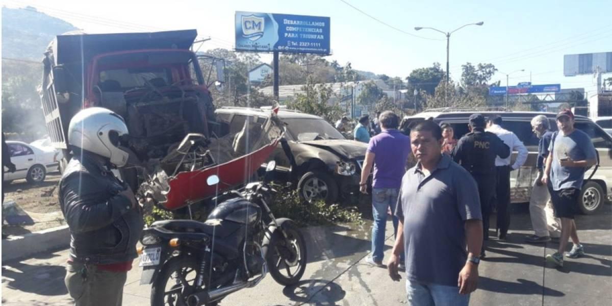 VIDEO. Colisión múltiple en ruta Interamericana, una semana después de percance que dejó 7 muertos