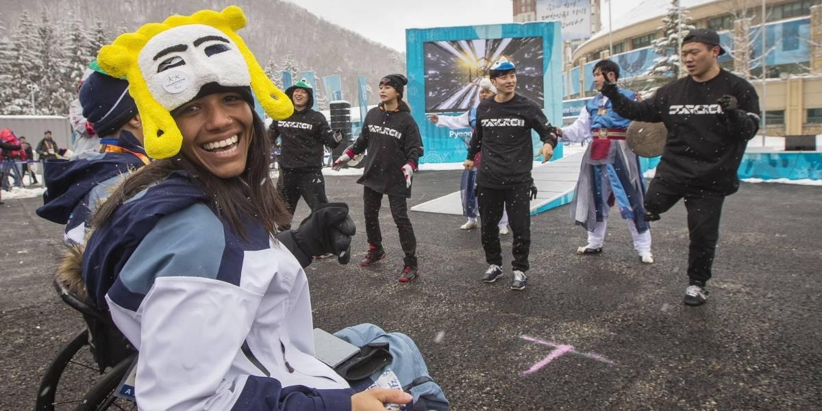 Aline Rocha será a porta-bandeira do Brasil nos Jogos Paralímpicos de Inverno