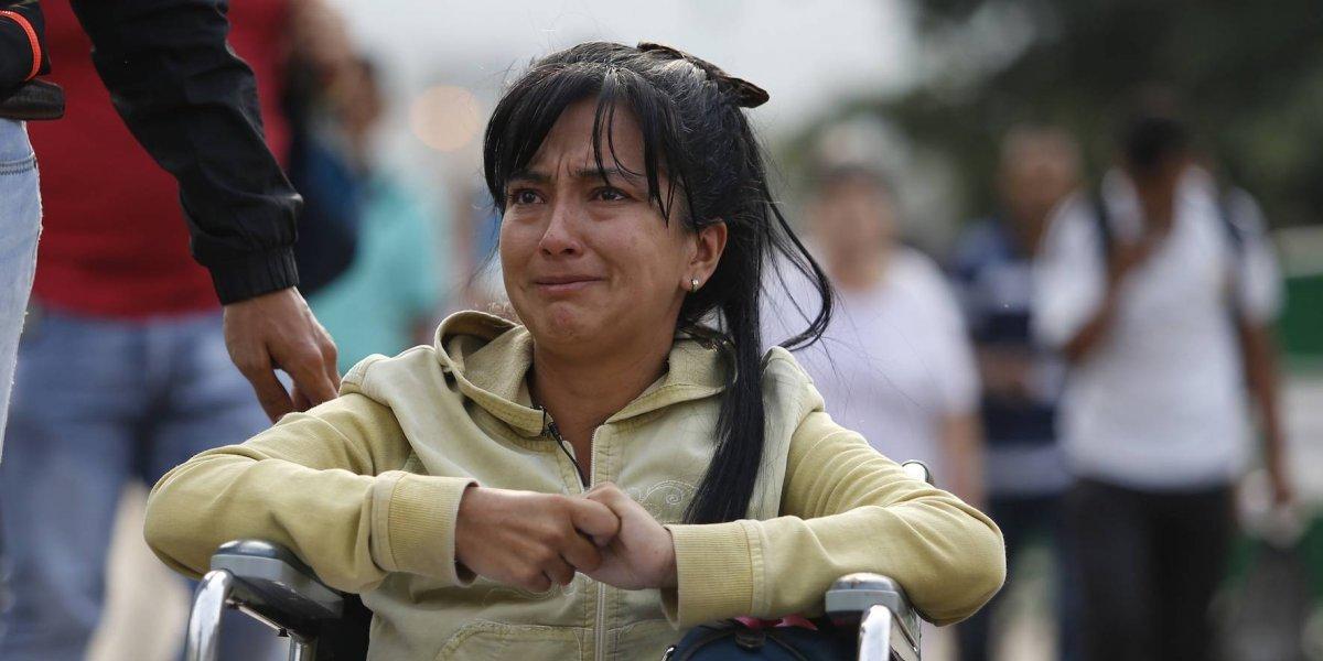 Venezolanos enfermos huyen a Colombia para buscar atención