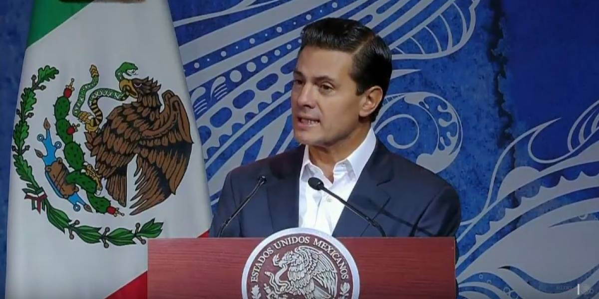 Llama Peña Nieto a mantener equilibrio entre explotación y cuidado de los océanos