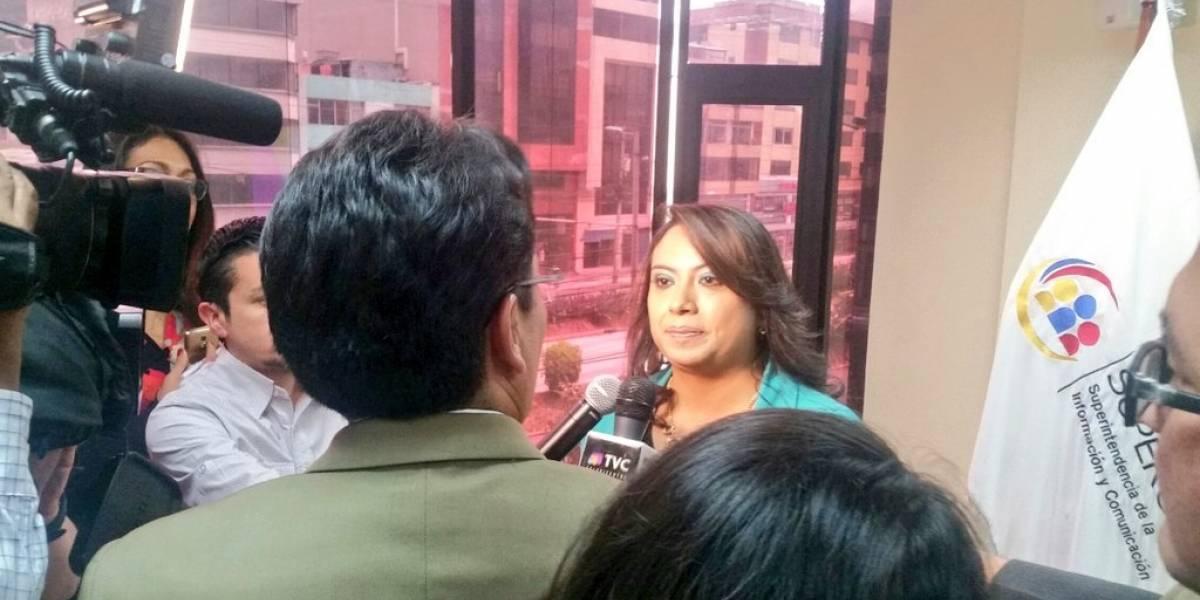 Paulina Quilumba, nueva Superintendenta de Comunicación