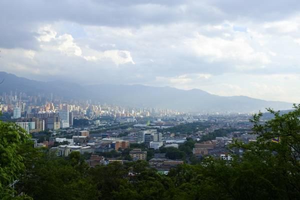 Contaminación del aire Medellín 2018