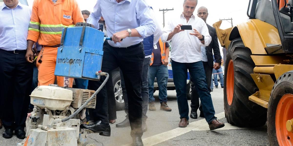 Começa obra de novo corredor de ônibus em SBC