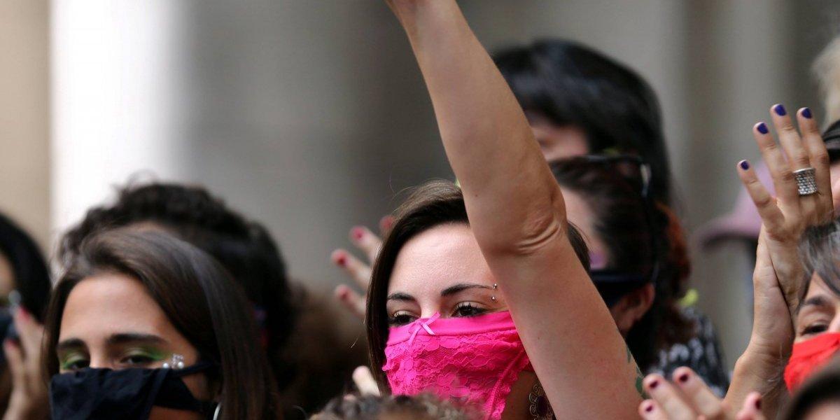 Veja fotos dos protestos do Dia Internacional da Mulher pelo mundo