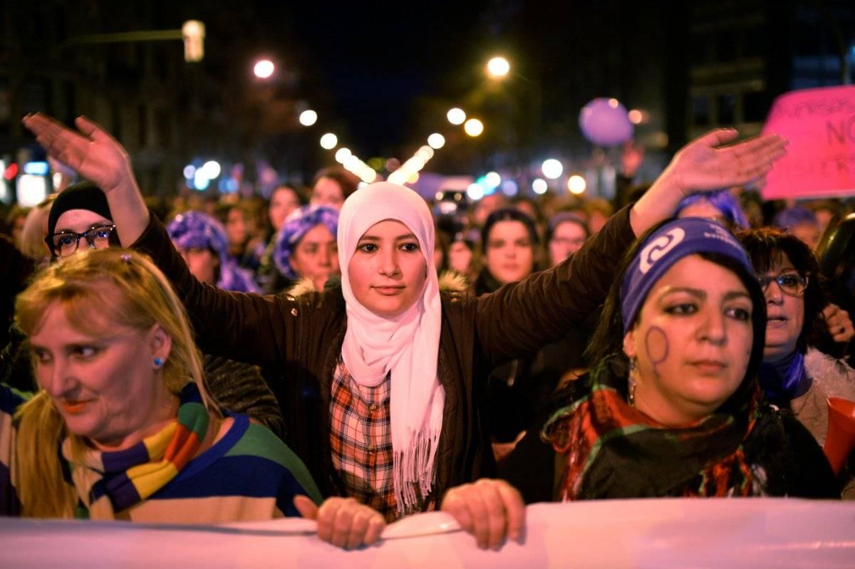 Manifestantes na Espanha Vincent West/Reuters