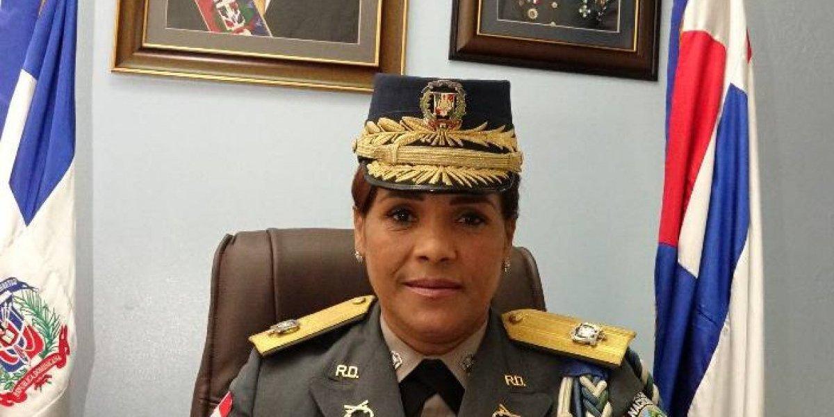 Teresa Martínez, la mujer con el puesto más alto en la PN