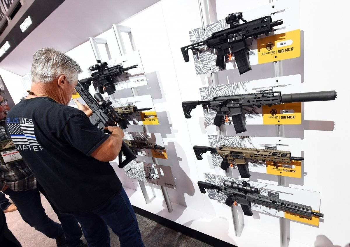 Fusiles de asalto en venta.
