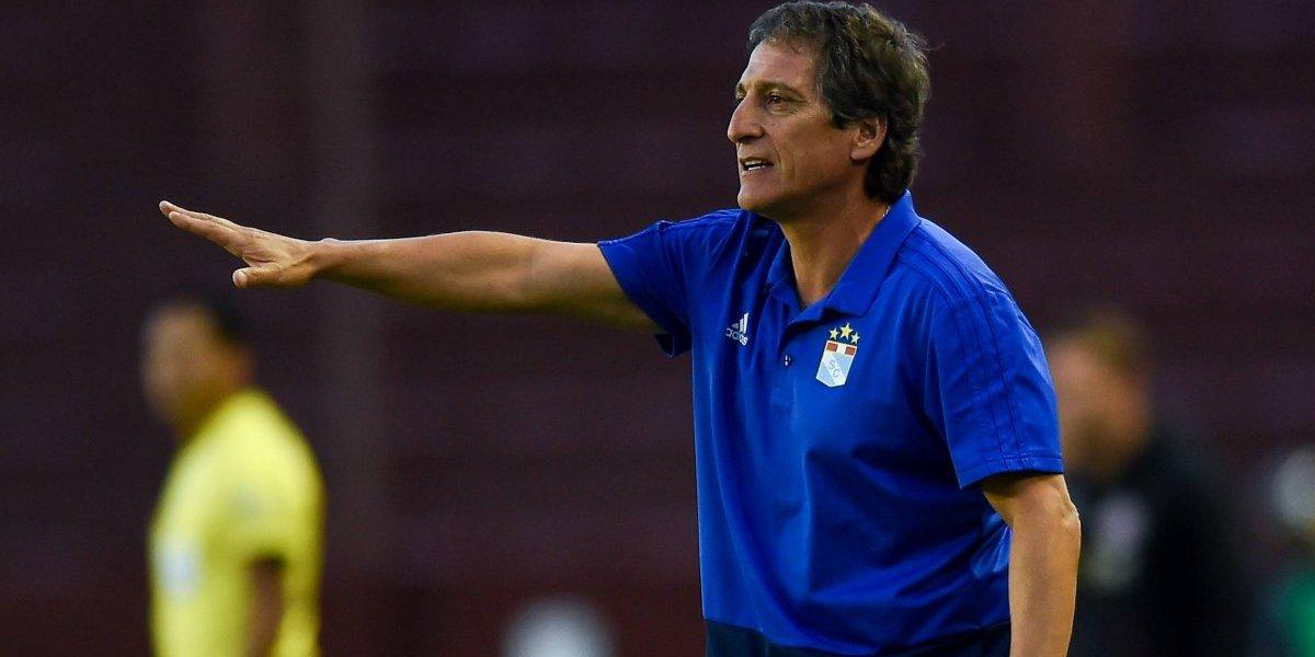 Mario Salas no va más en la Sudamericana: Sporting Cristal quedó eliminado a manos de Lanús