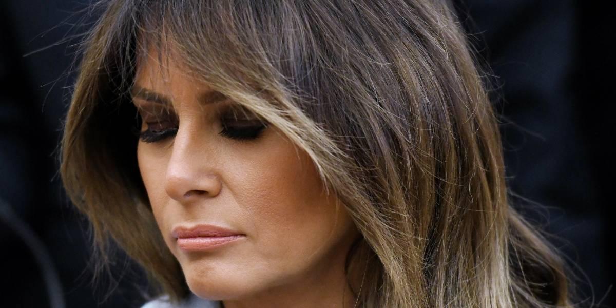 Melania Trump publica escueto mensaje por el Día Internacional de la Mujer