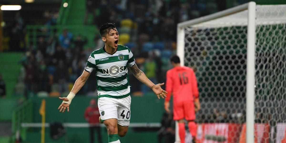 Freddy Montero no pierde la costumbre de anotar en Europa League